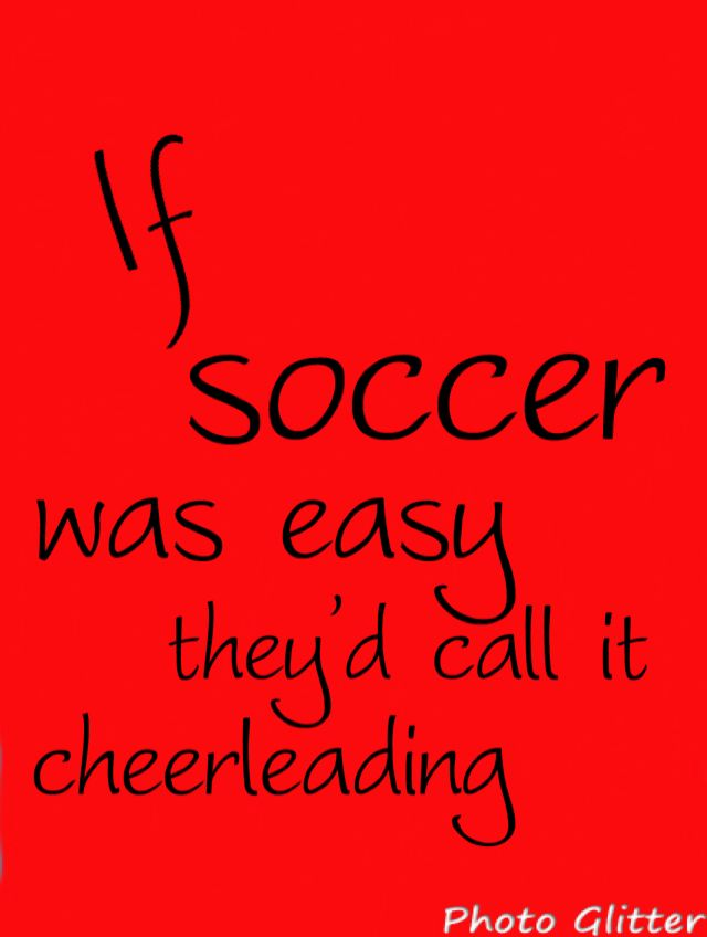 Soccer❤ true that!