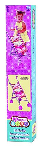 Small World Toys All About Baby Dolls - Umbrella Stroller (for Dolls only) * Click image for more details.