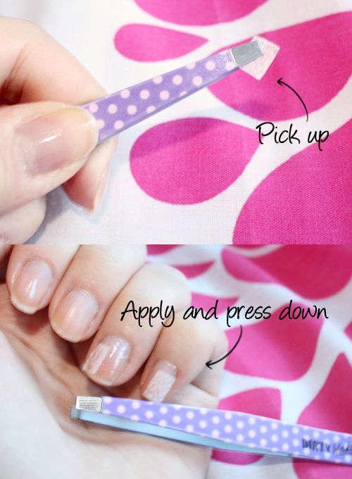 Holly Arabella's UK Beauty Blog: How To Fix A Broken Nail With A Teabag