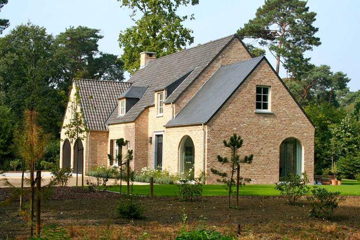 25 beste idee n over huis buitenkant design op pinterest gevelbeplating kleuren huis - Exterieur ingang eigentijds huis ...