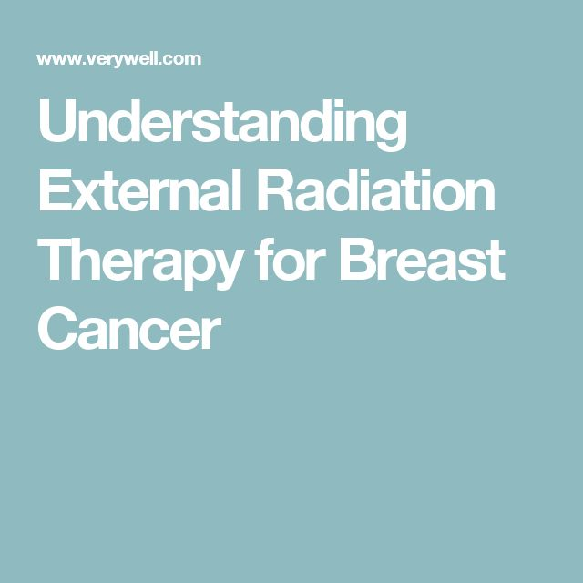 Understanding External Radiation Therapy for Breast Cancer