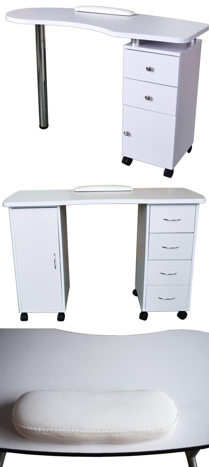 Other Nail Care: Slightly Purple Manicure Nail Table Station Desk Salon Beauty Equipment 400/600 BUY IT NOW ONLY: $199.99