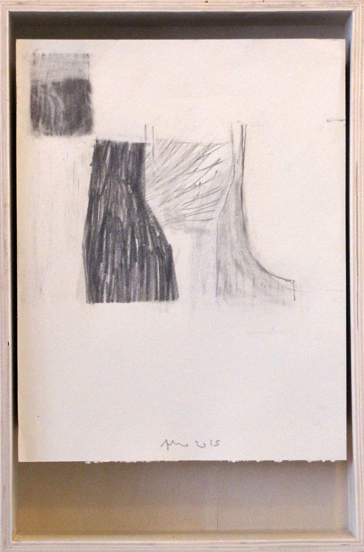da sombra: no espaço exterior das coisas II - grafite s/papel (21x25)