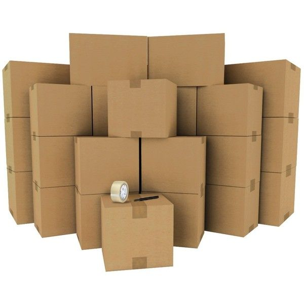 Amazon.com : Cheap Cheap Moving Boxes LLC Mover's Value Pack 30 Boxes... ($66) ❤ liked on Polyvore featuring home and home decor