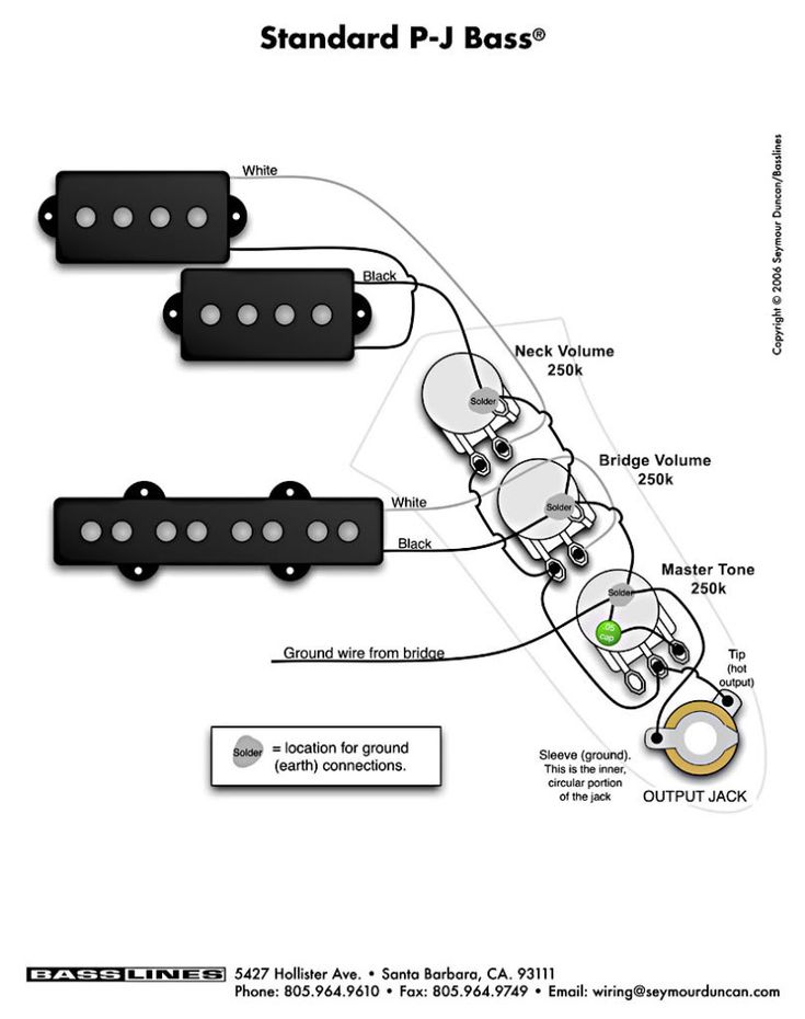 Guitar Wiring Diagrams 2 Pickups To In Ibanez Bass Diagram