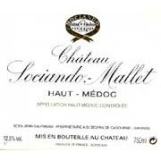 Chateau Sociando-Mallet Haut-Medoc 2009 - for NYTimes Wine School