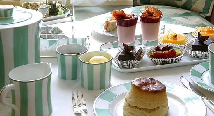 The striped porcelain, fluffy scones, homemade jam, finger sandwiches, Claridges blend tea, roaring fireplace and elegant setting can brighten up any dreary London day. Afternoon tea at Claridges is unbeatable!
