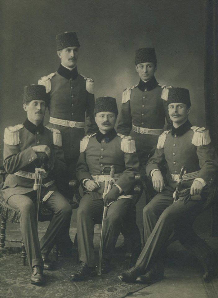 OTTOMAN OFFICERS Osmanlı Subayları