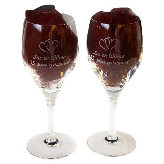 Best wijnglazen graveren images on pinterest red wine
