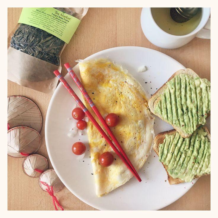 Asia inspired Breakfast