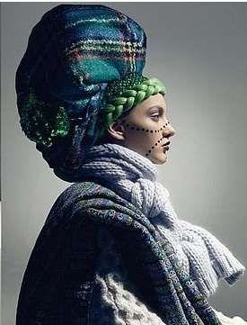 Wonderland Magazine's 'Head Won't Stop' photoshoot,