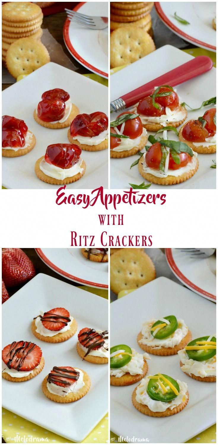 4 Easy Appetizer Recipes made with RITZ Crackers a…