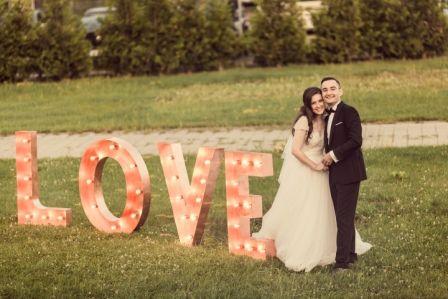 wedding decor, love
