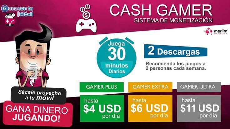 Descubre el Sistema de Monetización número 1 de habla hispana y Gana hasta $77 Dólares Semanales por solo jugar 30 minutos diarios!!! Actividad 100% Fácil y entretenida. Haz CLIC AQUÍ para +información