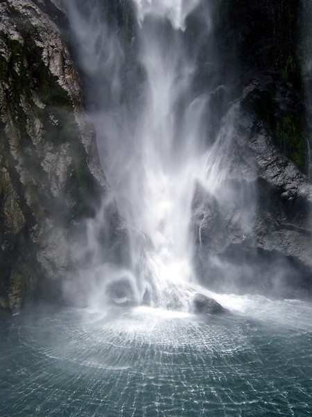 New Zealnad Waterfall - Megan Genova Photography