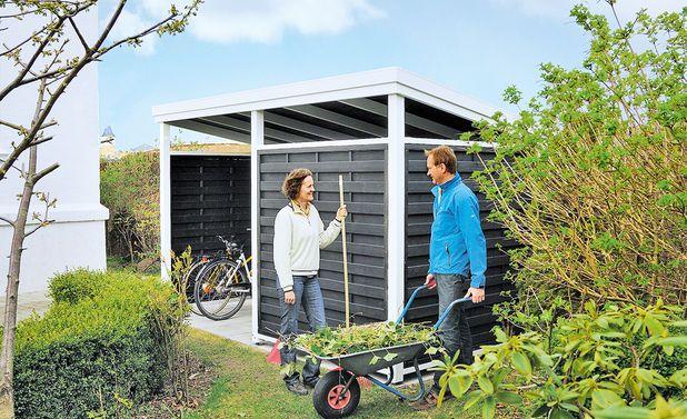 die besten 17 ideen zu ger teschuppen selber bauen auf pinterest carport metall carport und. Black Bedroom Furniture Sets. Home Design Ideas