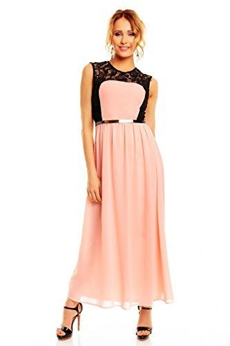 Damen Abendkleid Kleid Sommerkleid Maxikleid rosa -schwarz Emma&Ashley http://www.amazon.de/dp/B00ZU4YBQ0/ref=cm_sw_r_pi_dp_Z5IPwb0MSXSSP