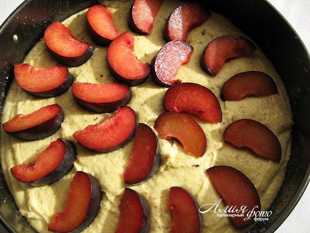 Тосканский сливовый пирог : Выпечка сладкая