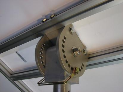 Rotating Amp Tilting Solar Panel Mount Trailer Mods
