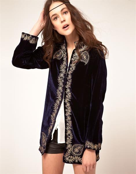 Фото бархатный пиджак женский