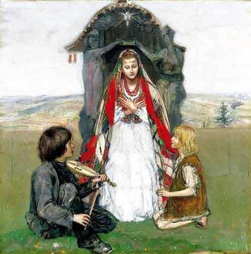 Vlastimil Hofman - Koronacja Madonny, 1908