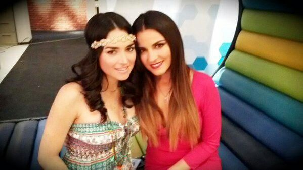 Actrizes mexicsnas Wendy Gonzales y Maite Perroni