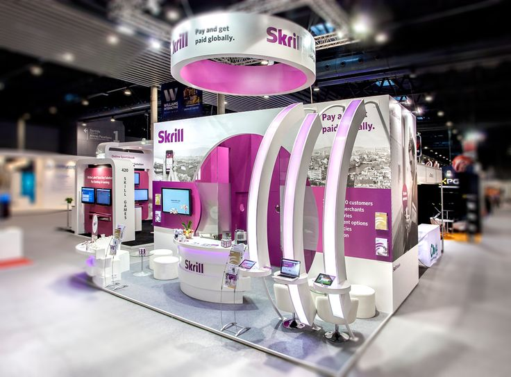 Exhibition Stand – Skrill Mobile 2013