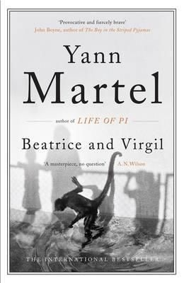 Beatrice & Virgil by Yann Martel - check out my review here: http://blogabooketc.com/2013/06/beatrice-virgil-by-yann-martel/