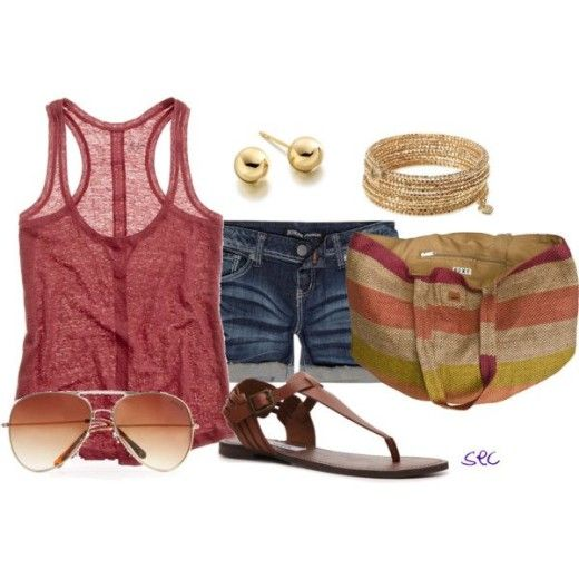 """""""Summer time 3″   Cute style   Women Fashion Style, Clothes Outift for • teens • movies • girls • women •. summer • fall • spring • winter • outfit ideas • 90s • 2014"""