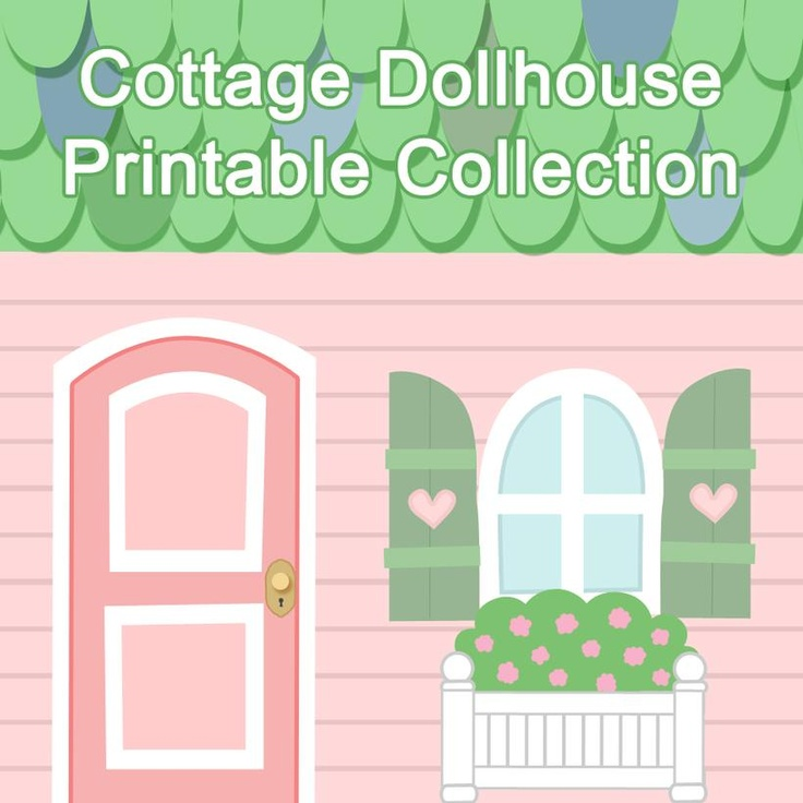 Paper Dollhouse Printables Download