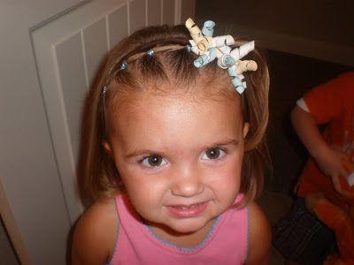 Toddler Hairstyles Short Hair : Tons of cute little girl hair ideas! good fir long and short
