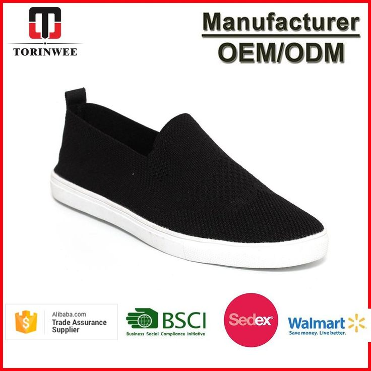 Mens Knitted Slip On Sneakers Shoes