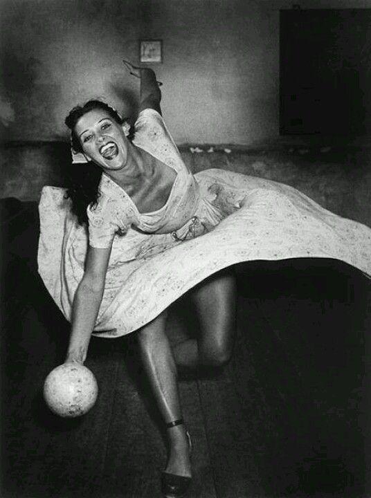 Vintage Bowling Night :)