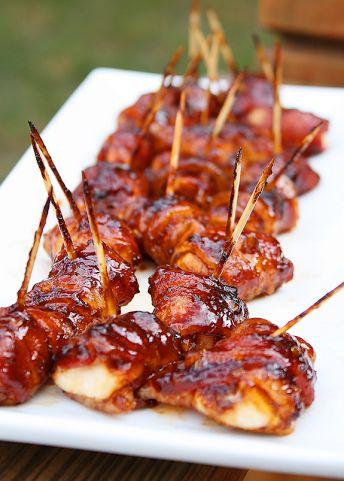 BBQ Chicken Bacon Bites