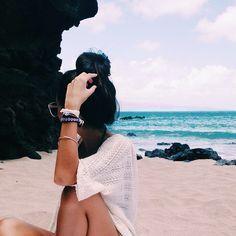 Resultado de imagen de fotos tumblr para imitar sola en la playa