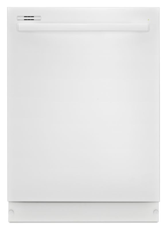 Amana ADB1500AD 24 Inch Wide Energy Star Rated Built-In Dishwasher with 1-Hour F White Dishwashers Dishwasher Built-In