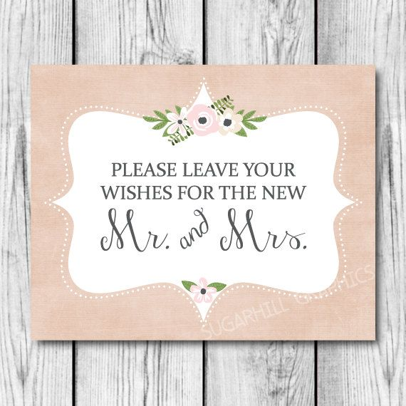Wedding Sign Printable Wedding Sign Wedding by SugarHillGraphics, $5.00