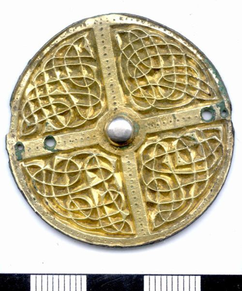 Brooch NARC-E11208 anglo saxon brooch Early medieval