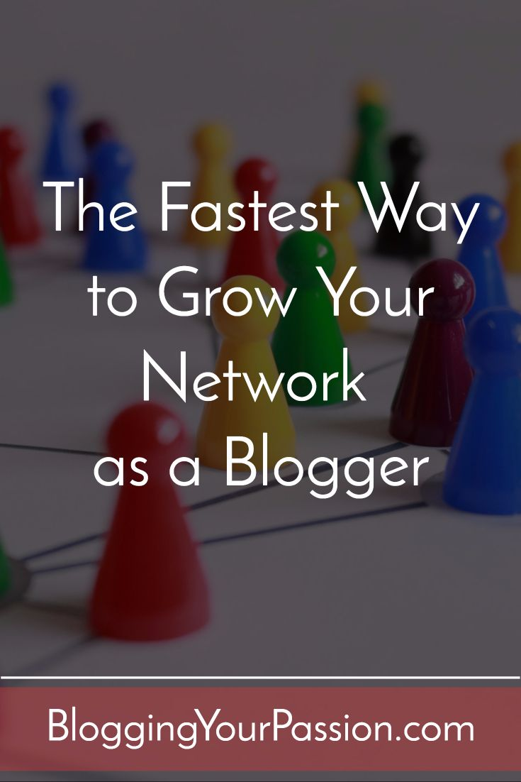 The Fastest Way to Grow Your Network as a Blogger http://bloggingyourpassion.com/the-fastest-way-to-grow-your-network-as-a-blogger/?utm_campaign=coschedule&utm_source=pinterest&utm_medium=Jonathan%20Milligan%20%7C%20Blogging%20Your%20Passion%20%7C%20Tips%2C%20Strategies%20and%20Ideas&utm_content=The%20Fastest%20Way%20to%20Grow%20Your%20Network%20as%20a%20Blogger