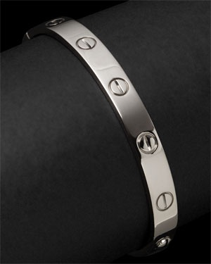Cartier 'Love' 18K Estate Bracelet