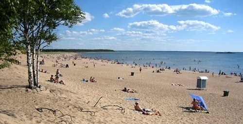 Yyteri beach in Pori, Finland is a must visit place in the summer time! Almost as if one would've traveled to southern Europe =)