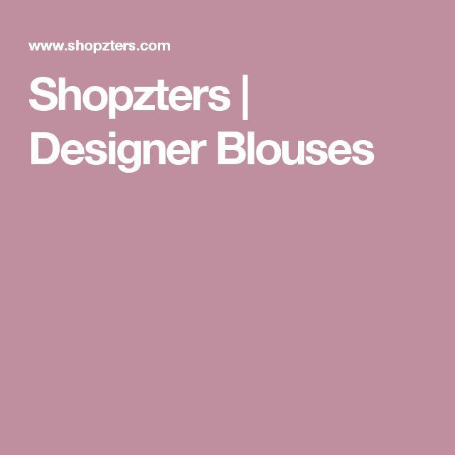 Shopzters | Designer Blouses