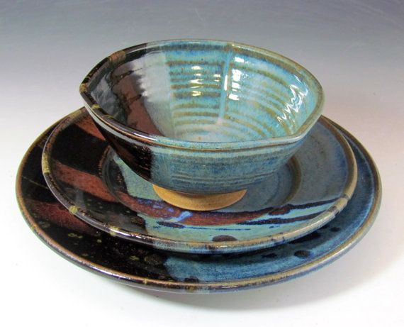 handmade stoneware dinnerware sets 17 best images about handmade pottery dinnerware and 3850