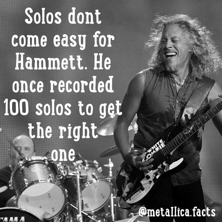 That's called dedication  Reposted Via @metallica.facts