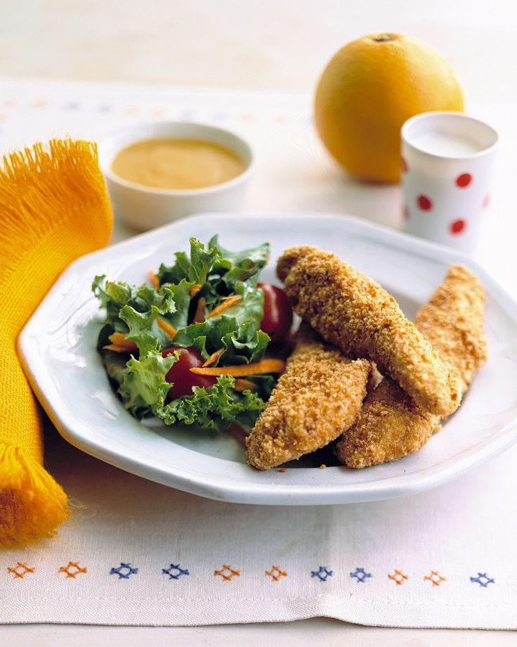 Chicken Fingers With Orange Dipping Sauce Martha Stewart Living An Easy Sauce Made Of