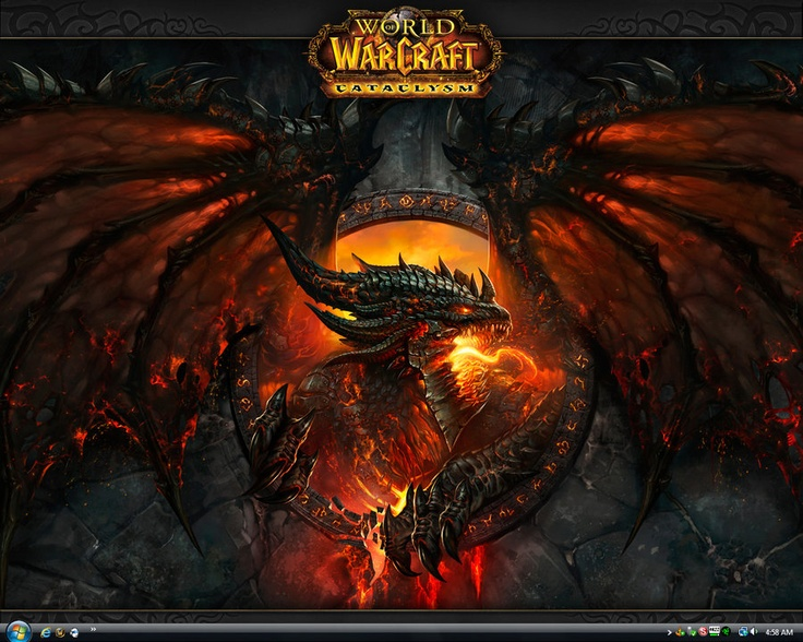 WoW Cataclysm Deathwing by jeshikah World of warcraft