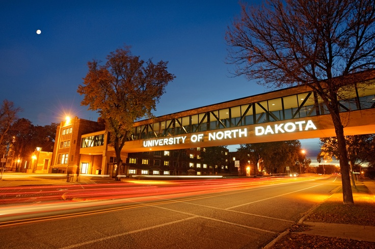 University of North Dakota. Our hotel is connected to the University by Skywalk.