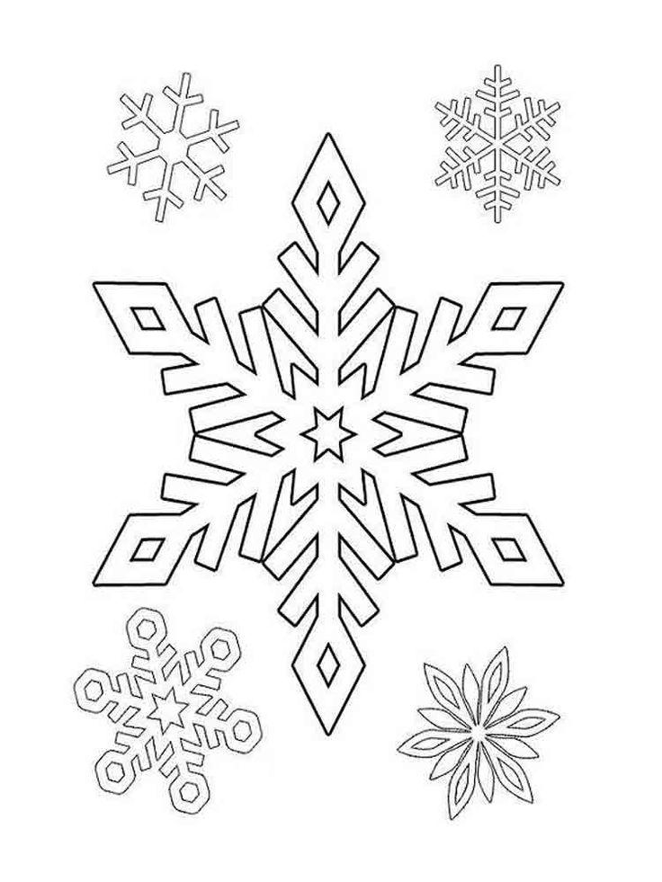 Цветок, шаблоны на нг снежинки