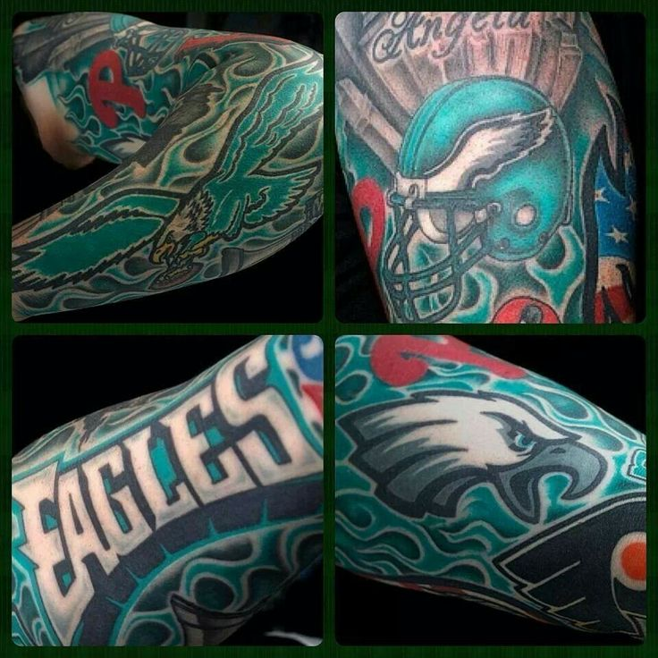 23 best philadelphia eagles tattoos images on pinterest
