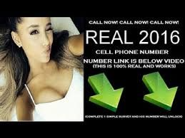 Image result for ariana grande phone number